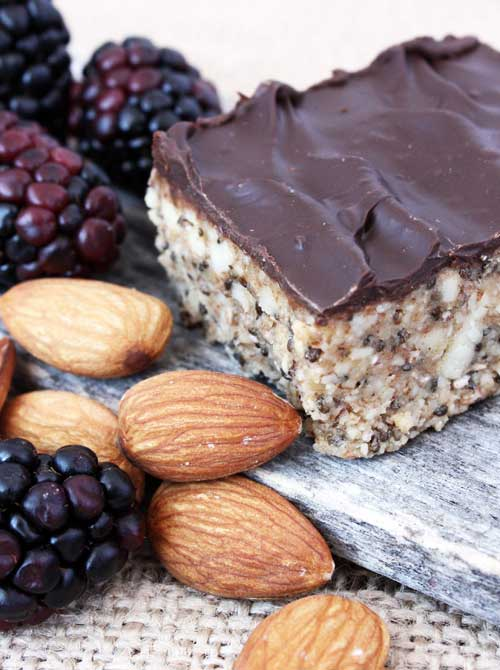 I am always on the lookout for wholesome, power-packed bites to have at the ready for when I'm running out the door. These power bars from Elana's Pantry were perfect!