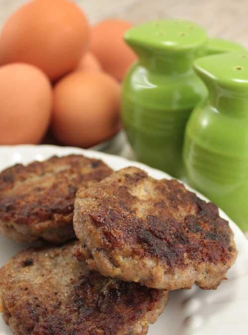 Gluten-Free Chicken Breakfast Sausage