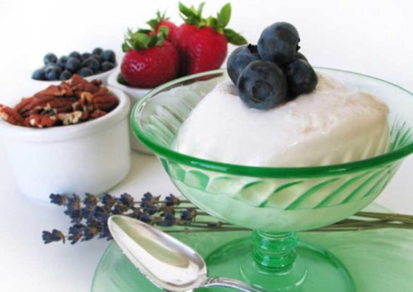 Ten batches of the Almond Hemp Milk Yogurt later I am pleased to share this dairy-free yogurt recipe with you.