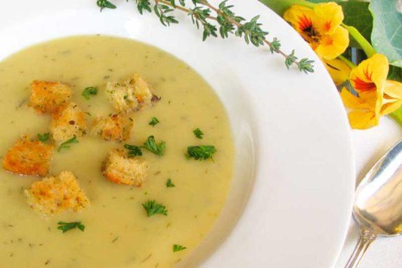 Potato Leek Soup | Dairy Free