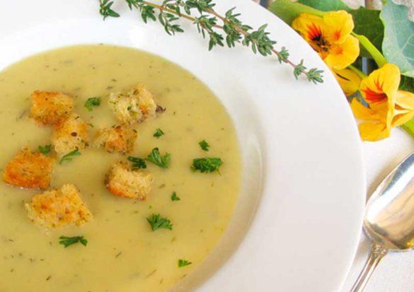 Potato Leek Soup   Dairy Free