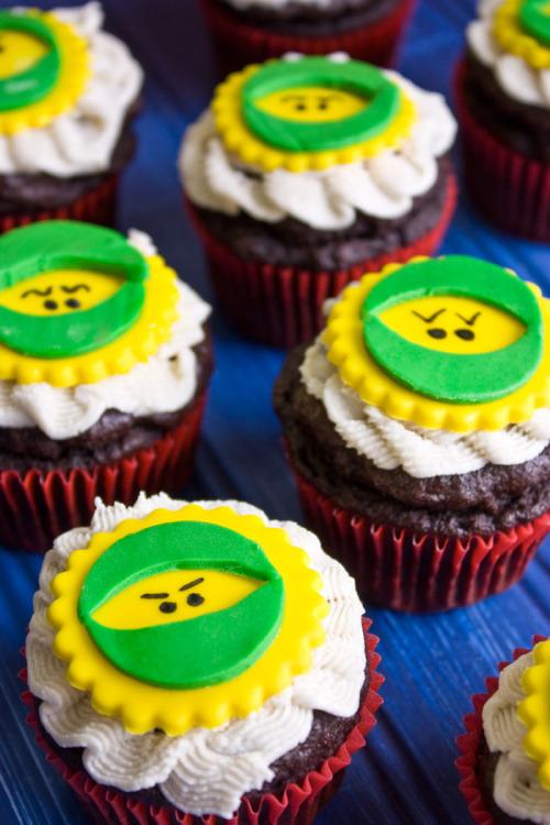 Batman and Lego Ninjago Cupcakes | Flo and Grace
