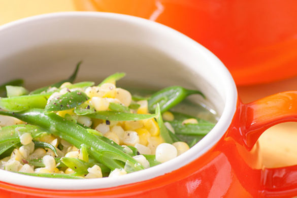 SOUTHERN CORN AND GREEN BEANS RECIPE