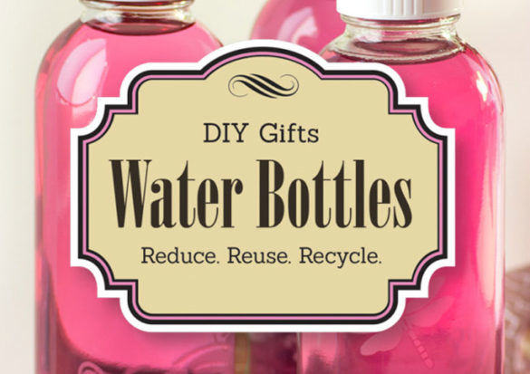 These DIY Etched Water Bottles made great gifts for my close friends and family who appreciate eco-friendly and recycled gifts.