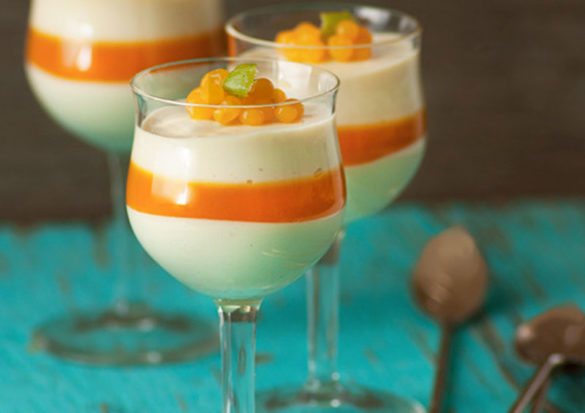 These Passion Fruit Cheesecake Parfaits are unbelievable—and not just because they are dairy free. You'll find Passion Fruit to be such a unique tasting fruit—floral, tart, sweet.