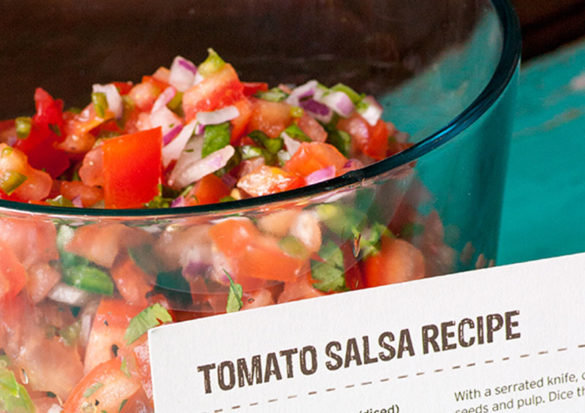Save this Chipotle Tomato Salsa recipe for your next summer grill out. Promise, it will be a hit.