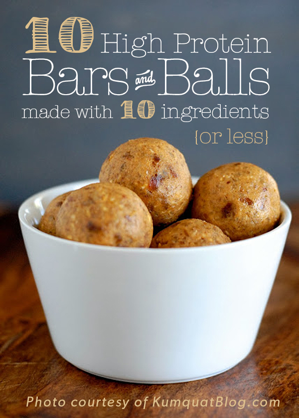 10 High Protein Power Bars & Balls