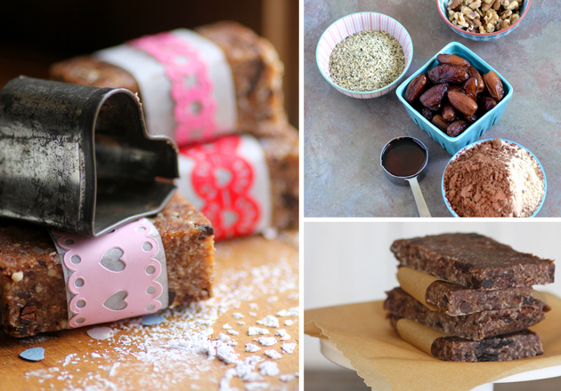 Need some high protein power bar inspiration? Here's a round up of gluten-free and vegan high protein power bars (and balls) calling for 10 ingredients of less.