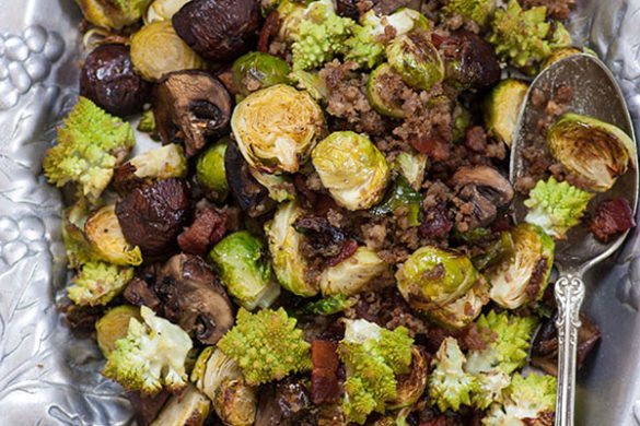 Brussels sprouts that no meat lover can turn down!