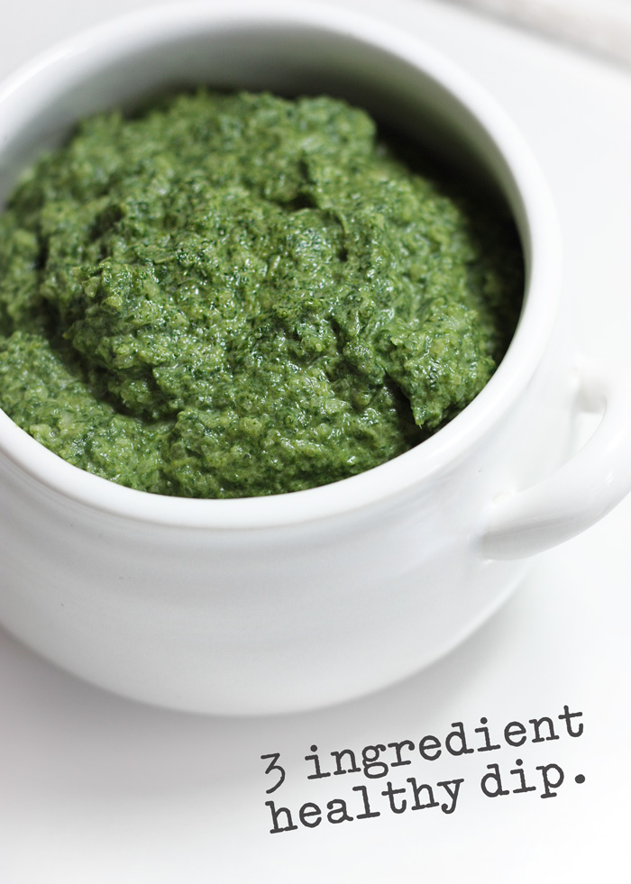 Do you ever experience temporary addictions to certain foods? This spinach sauerkraut dip has been my craving for the past week. Thankfully it's real good for you.
