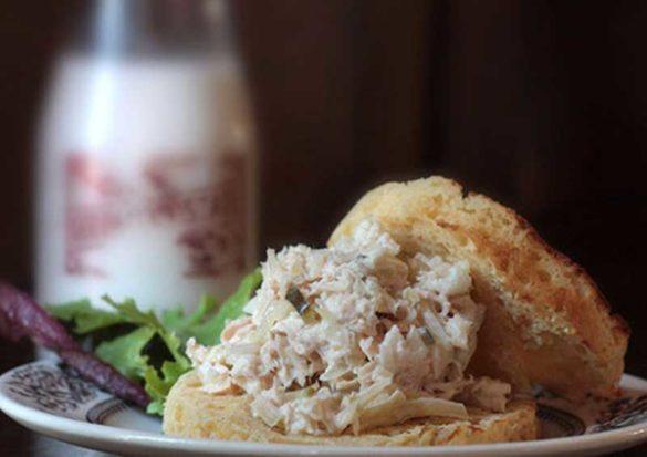 Tuna Sauerkraut Salad