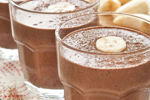I like that this Banana Split Smoothie powers the kids up with protein in the morning and that they drink every last drop. Really, this Banana Split smoothie tastes far more decadent than healing.