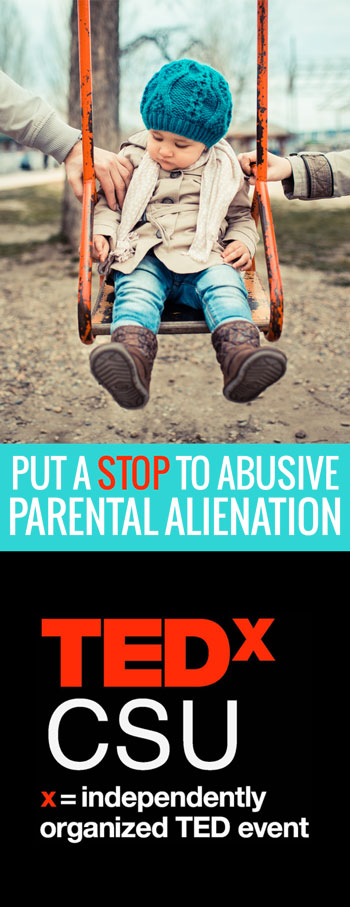 Parental alienation (or Hostile Aggressive Parenting) is a group of behaviors that are damaging to children's mental and emotional well-being, and can interfere with a relationship of a child and either parent.
