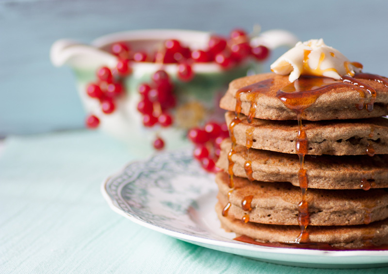 Hearty Gluten Free Vegan Pancakes