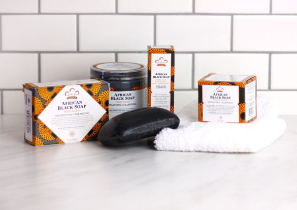 Nubian Heritage African Black Soap Clarifying Products